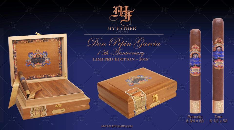 Don Pepin Garcia 15th Anniversary Limited Edition 2018