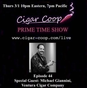Announcement: Prime Time Show Episode 44 3/1/18 10pm Eastern, 7pm Pacific