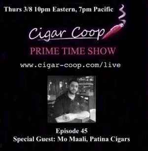 Announcement: Prime Time Show Episode 45 3/8/18 10pm Eastern, 7pm Pacific