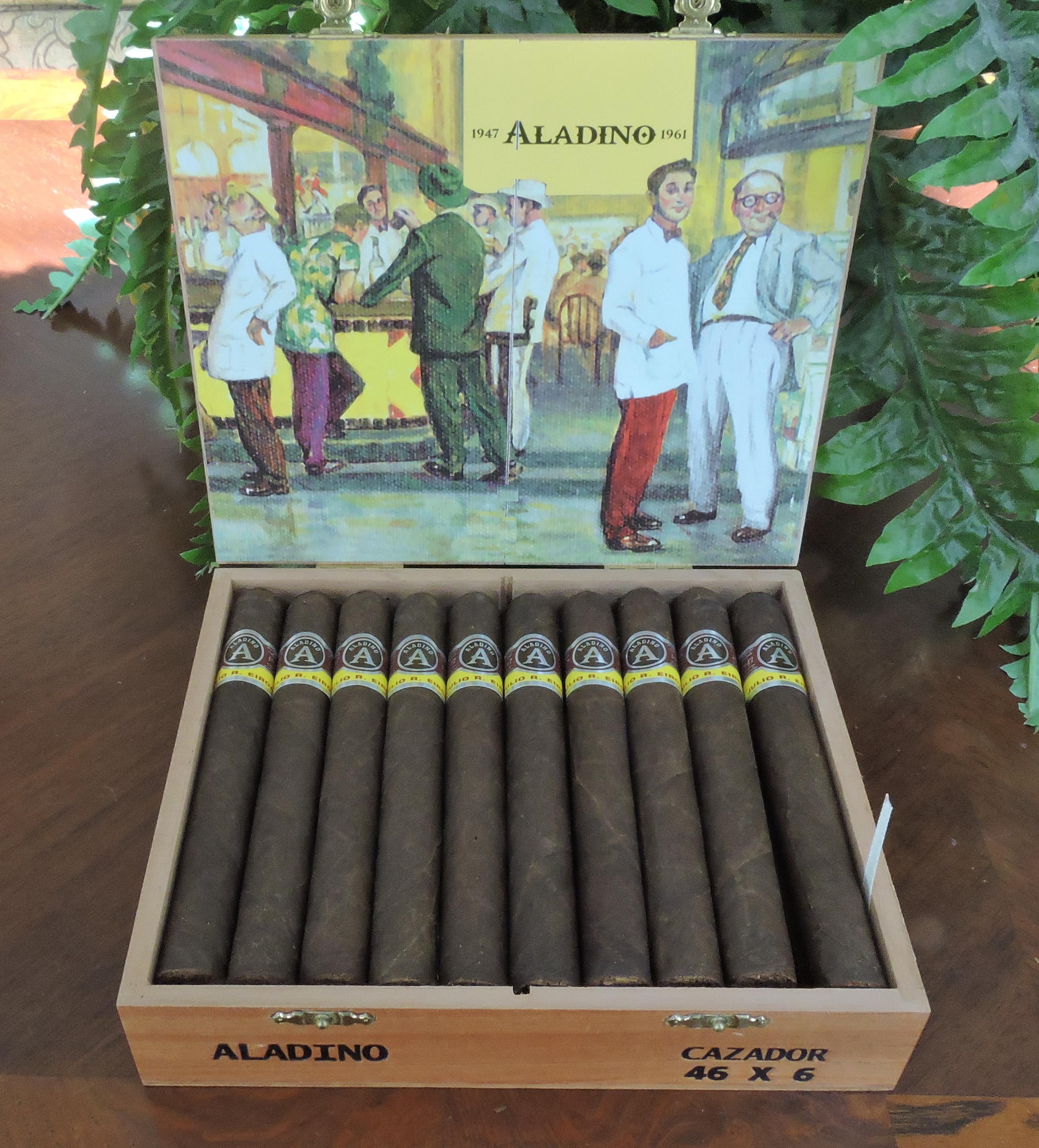 Aladino Maduro Cazador Open Box