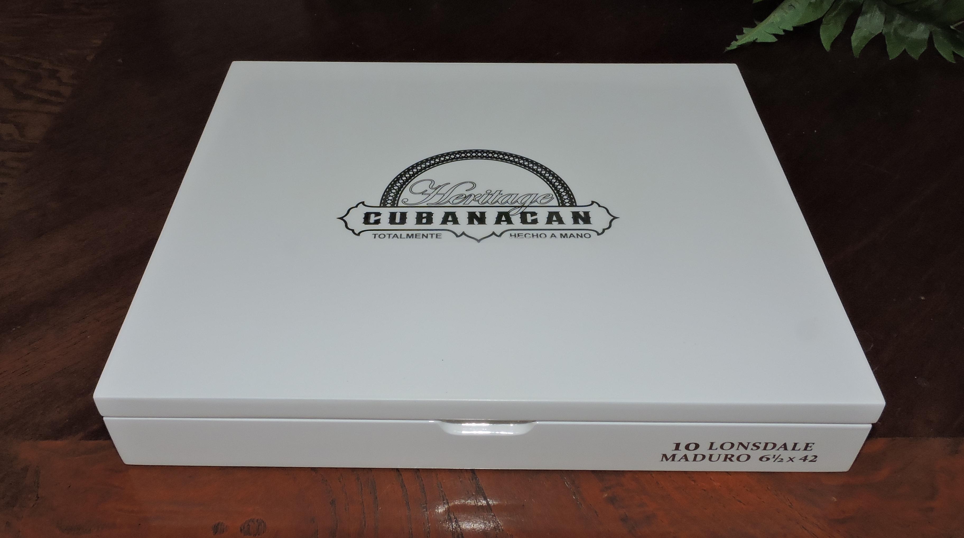 Cubanacan Maduro Lonsdale Box