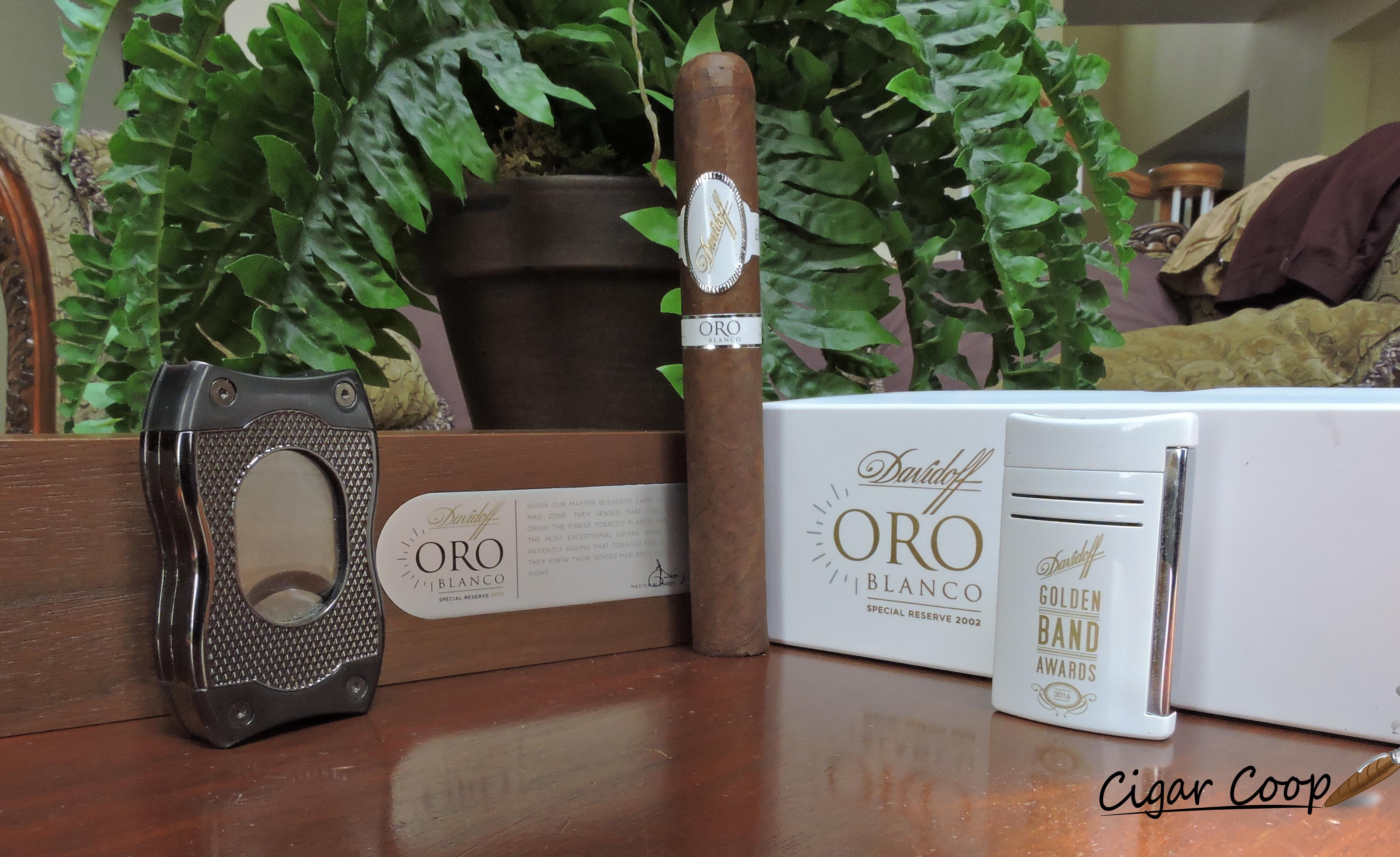 Davidoff Oro Blanco-Tools