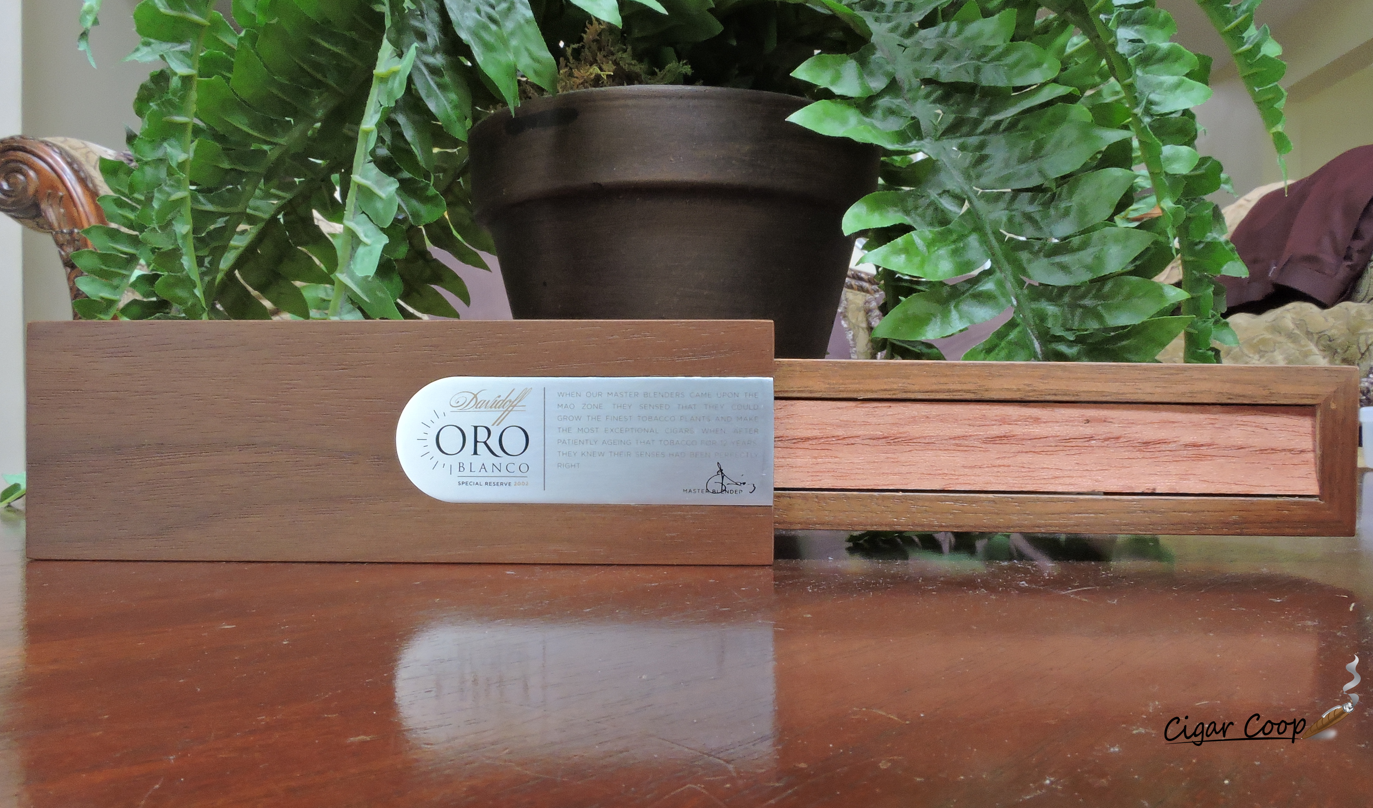 Davidoff Oro Blanco Individual Box