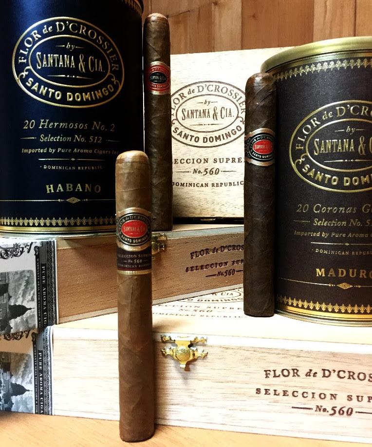 Cigar News: Flor de D'Crossier Seleccion Suprema No. 560 and Selection 512 Now Available
