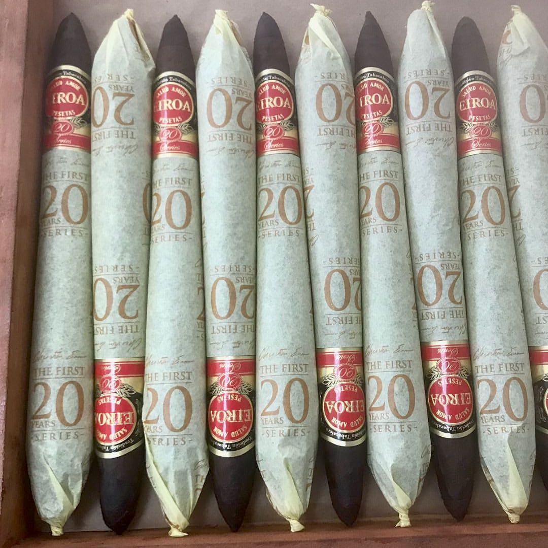 Cigar News: C.L.E. Cigar Company Introduces EIROA First 20 Years Diadema to TAA