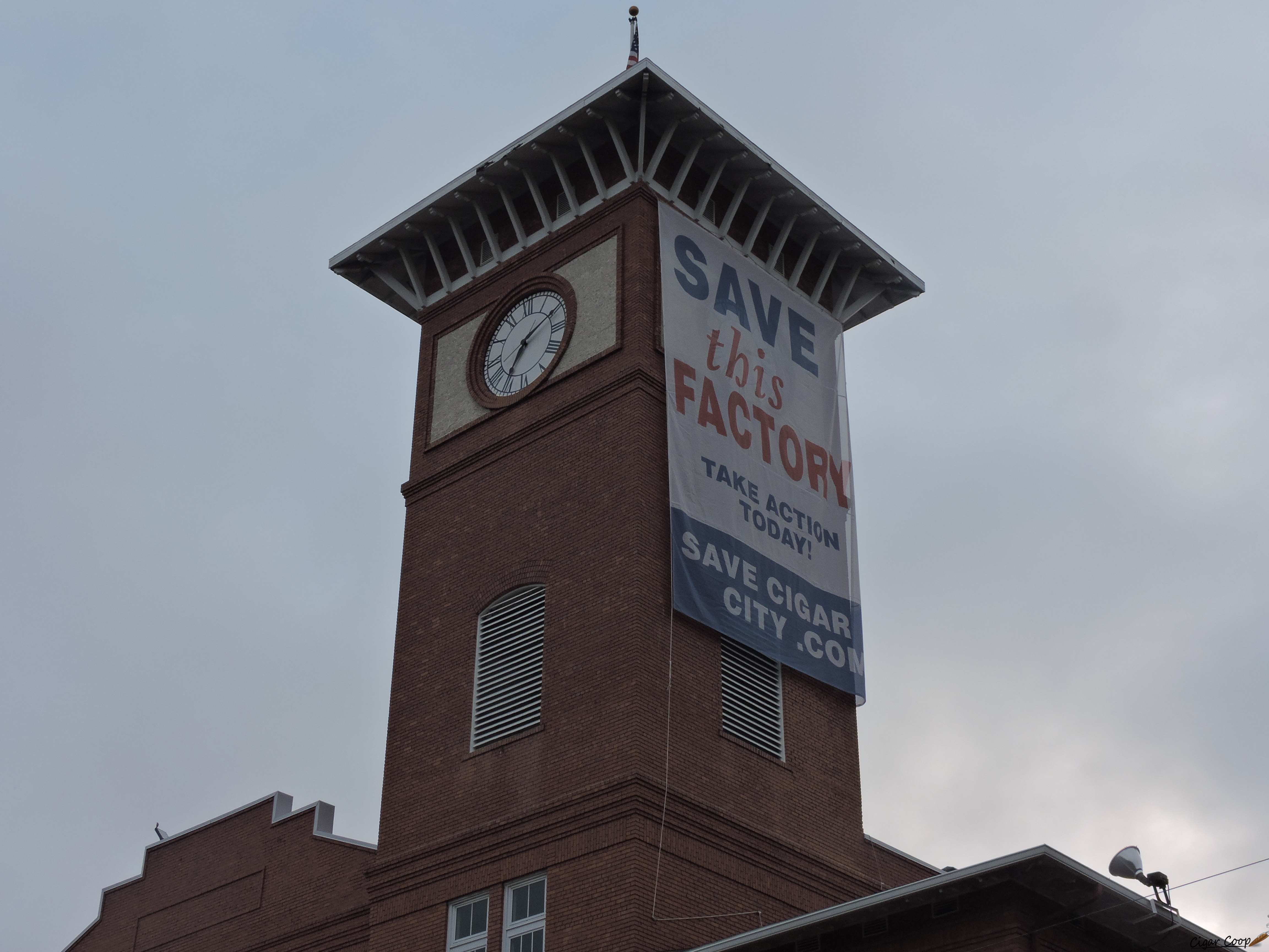 Cigar News: J.C. Newman Relaunches Save Cigar City Campaign