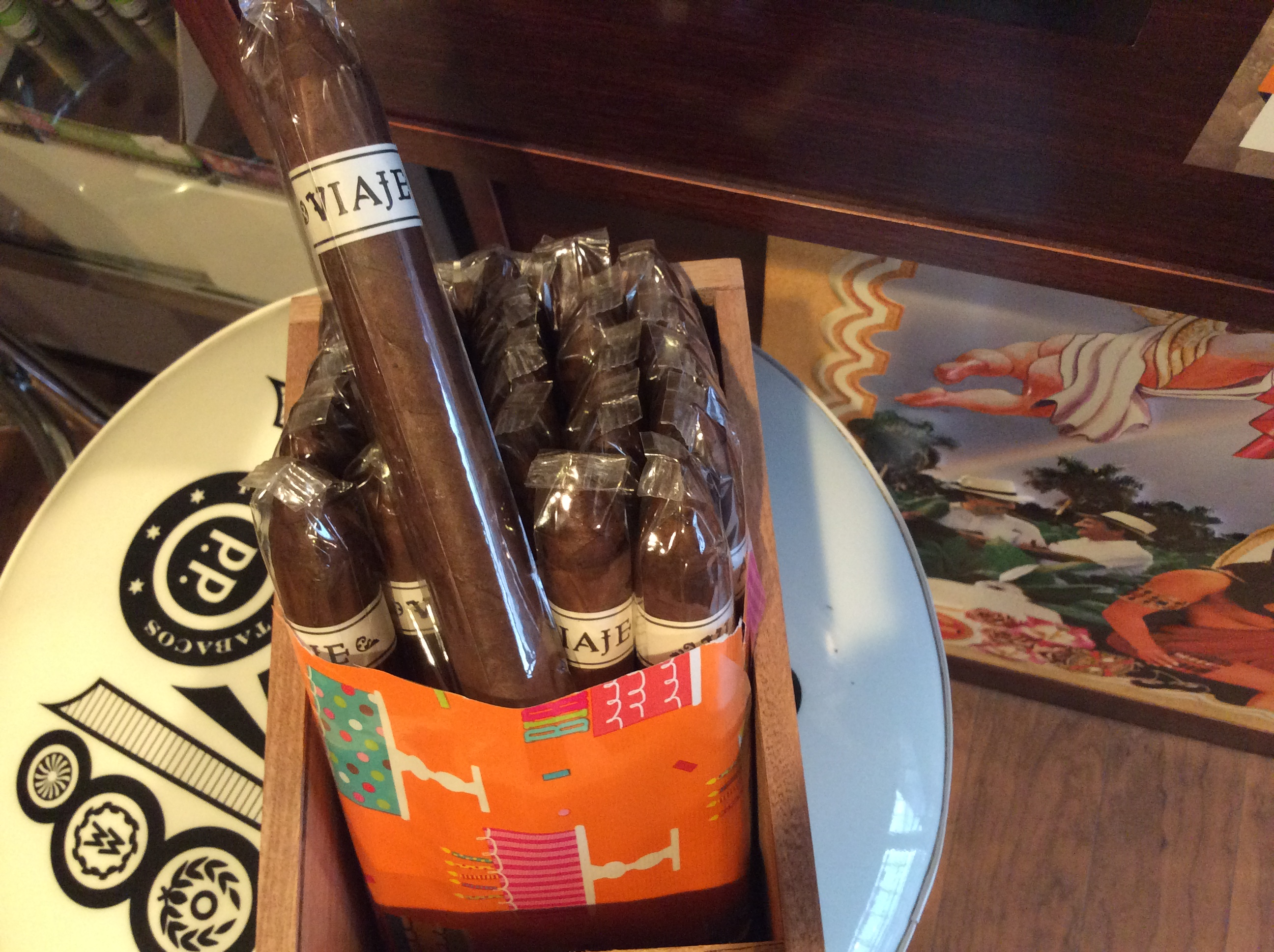 Cigar News: Viaje Birthday Blend 2018 Arrives at Retailers