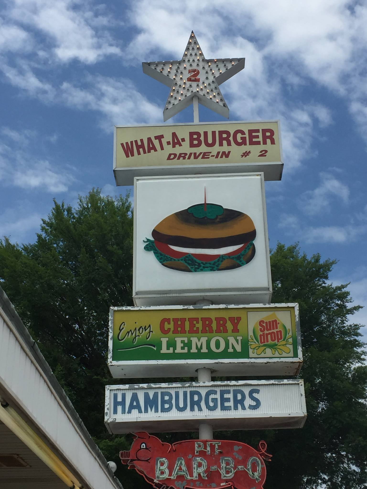 What A Burger Drive In