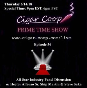 Announcement: Prime Time Show Episode 56 – All-Star Industry Panel Discussion. 9pm EST, 6pm PST
