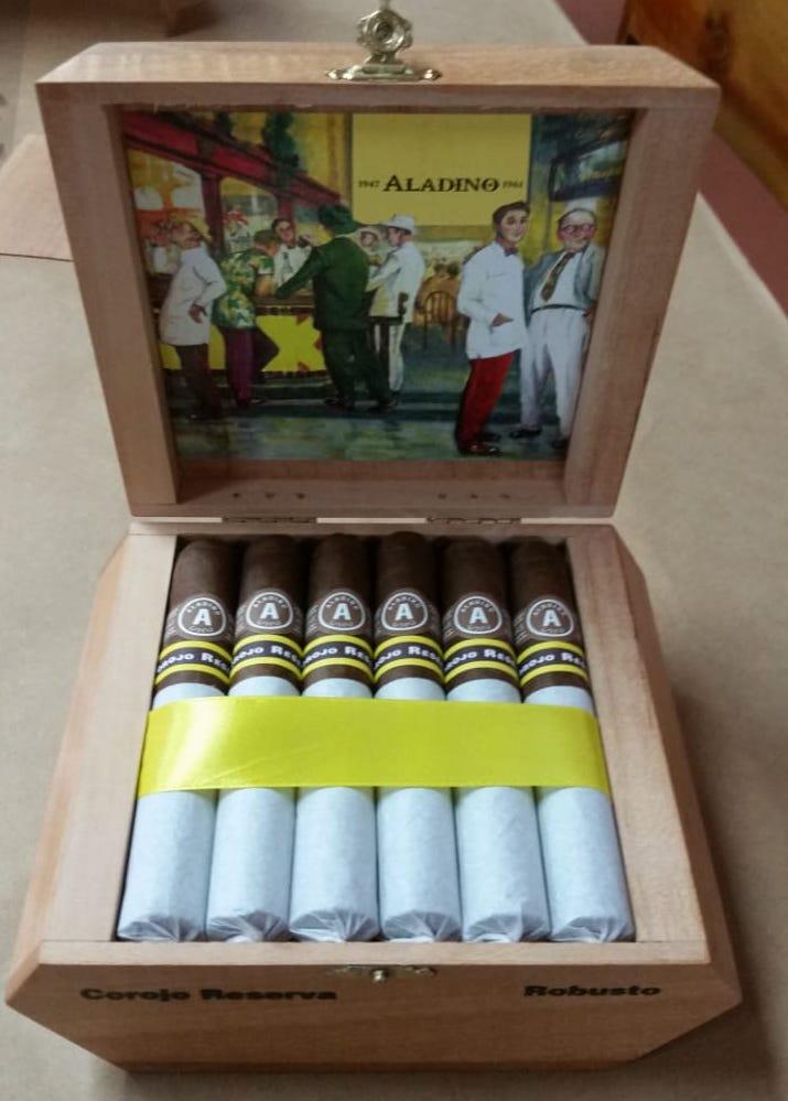 Cigar News: JRE Tobacco Aladino Corojo Reserva to Launch at 2018 IPCPR