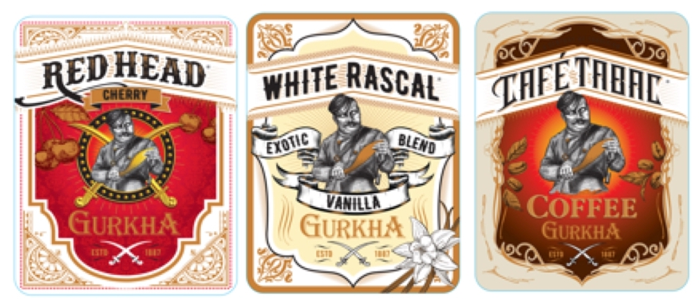 Cigar News: Gurkha To Re-Launch Three Flavored Cigar Lines