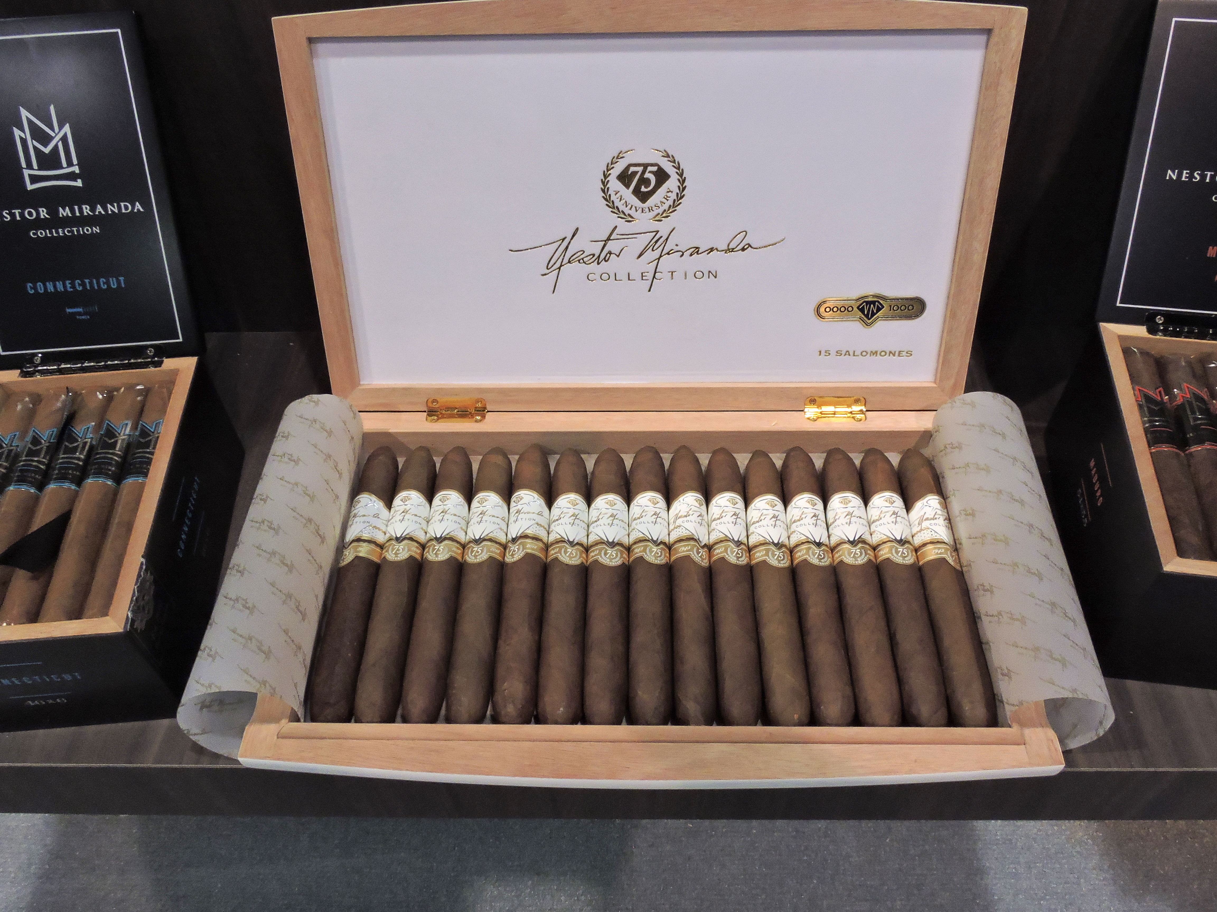 Cigar News: Nestor Miranda Collection 75th Anniversary Cigar Heads for Release