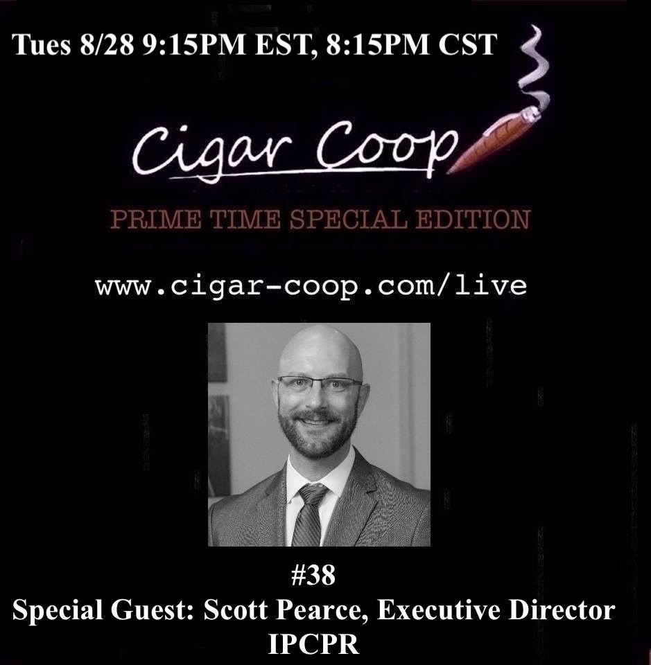 Announcement: Prime Time Special Edition #38 – Scott Pearce, IPCPR Tues 8/28 9:15pm EST, 8:15pm CST
