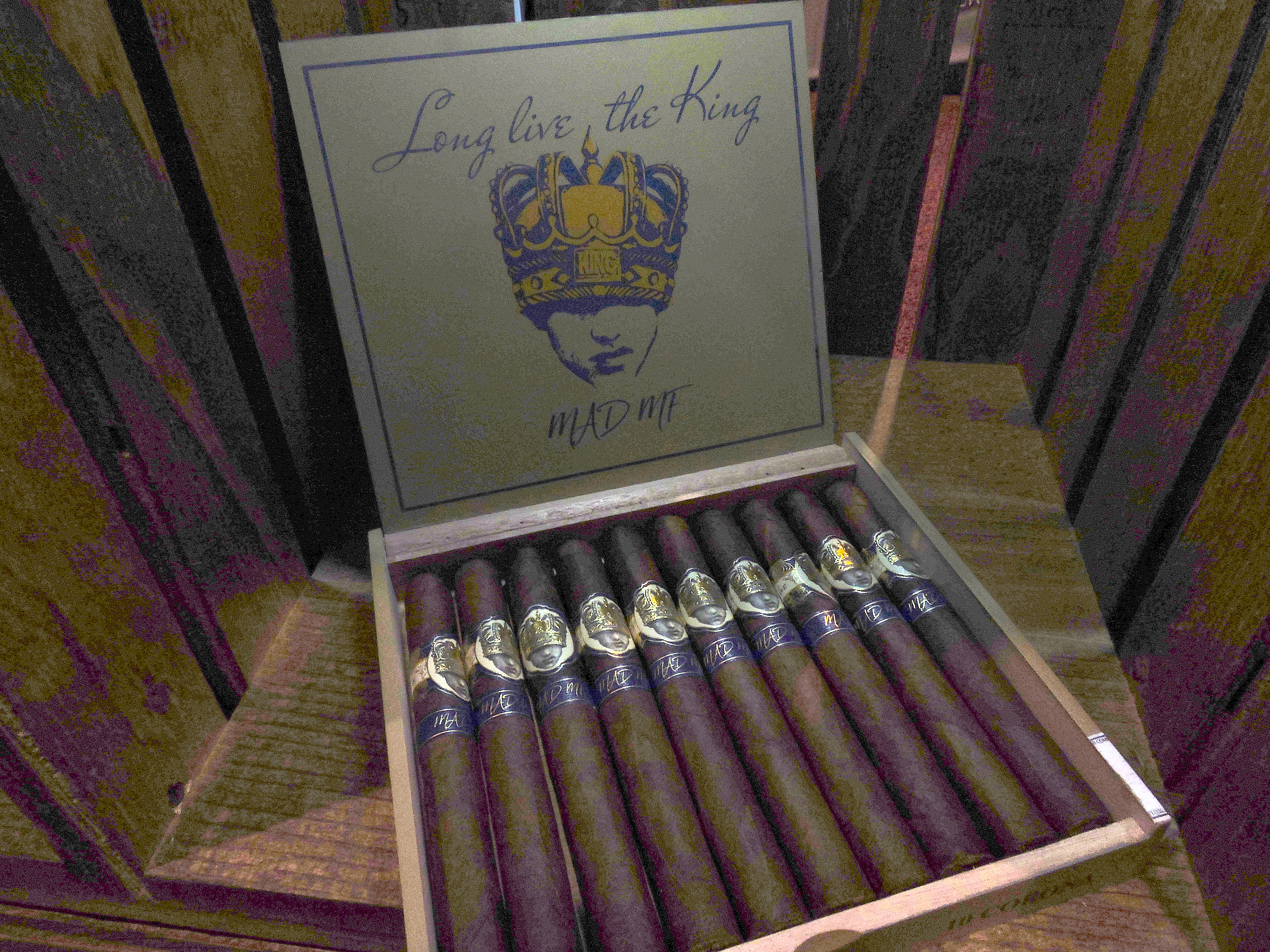 Cigar News: Caldwell Cigar Company Launches Long Live the King MAD MF at 2018 IPCPR