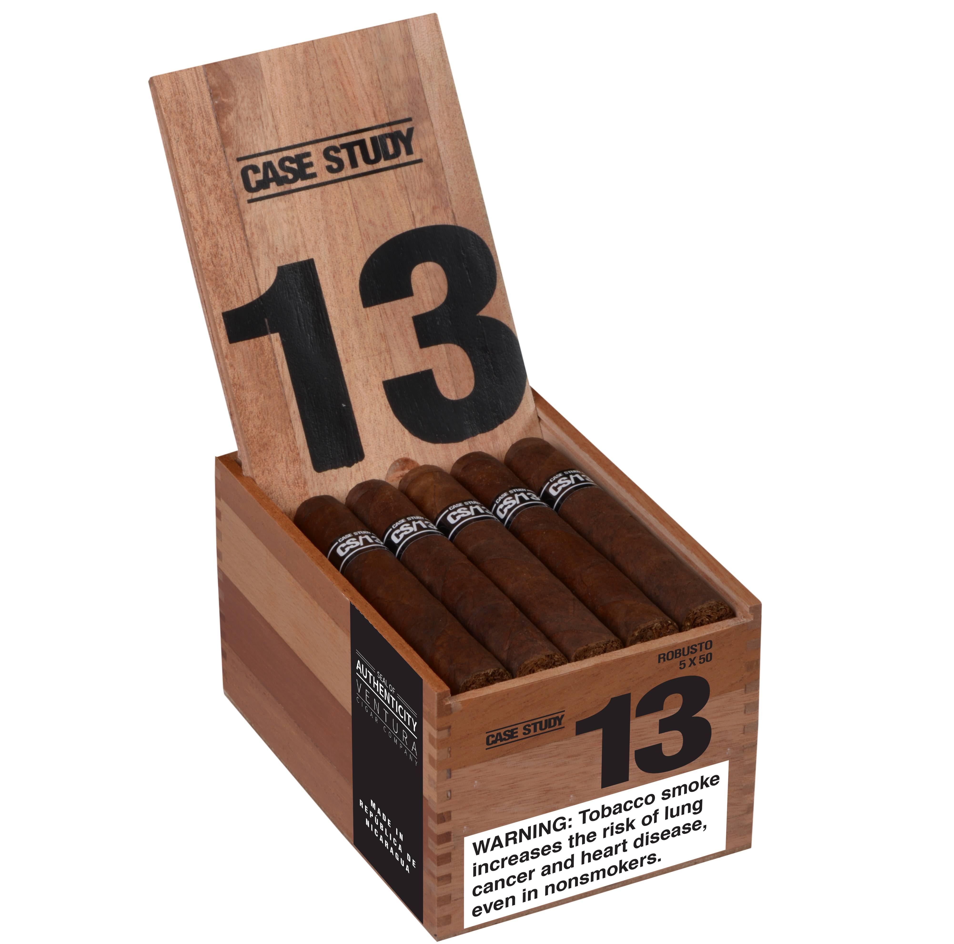 Cigar News: Ventura Cigar Company Launches Case Study CS/13  at 2018 IPCPR