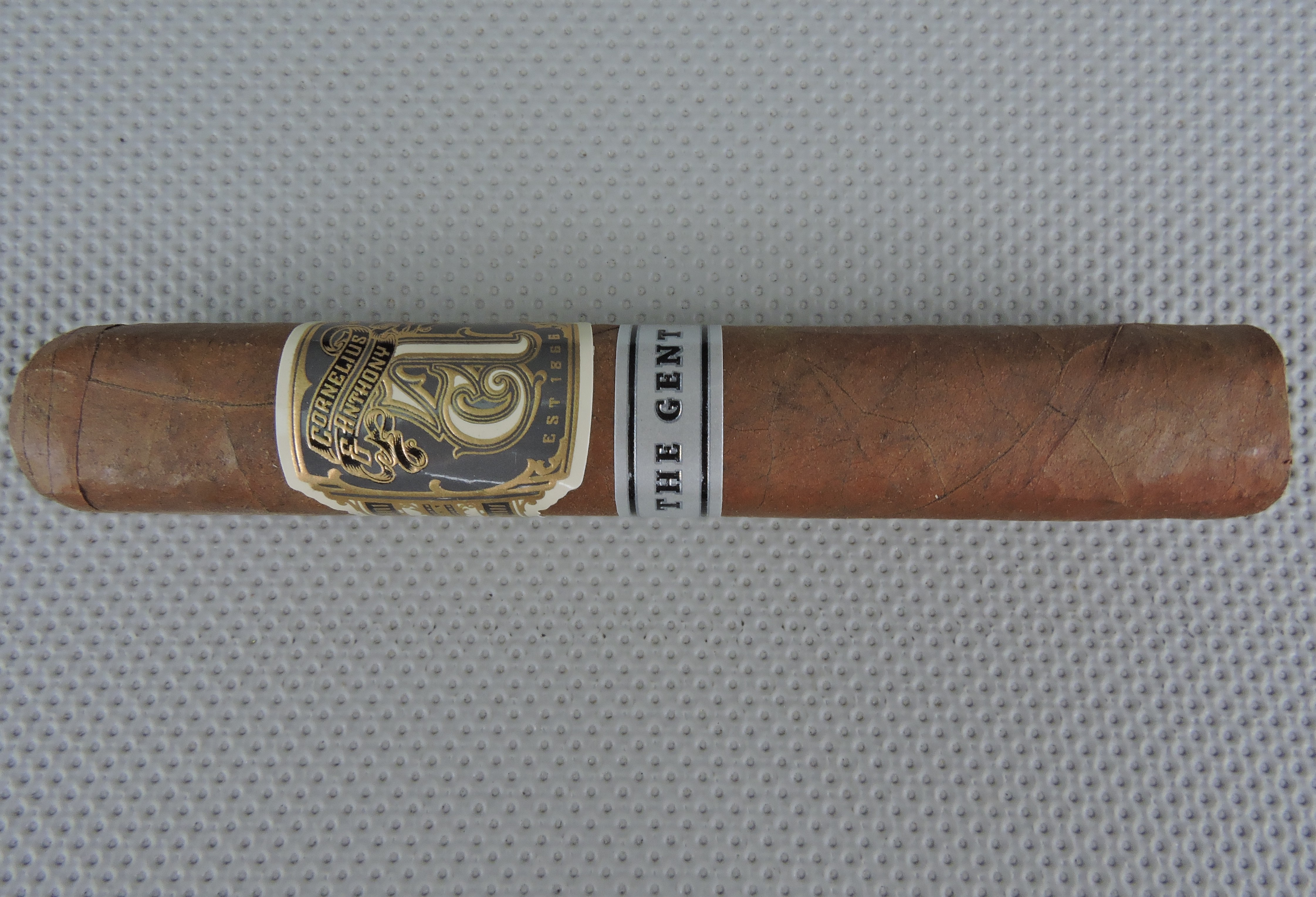 2018 Cigar of the Year Countdown: #15: Cornelius & Anthony – The Gent Robusto