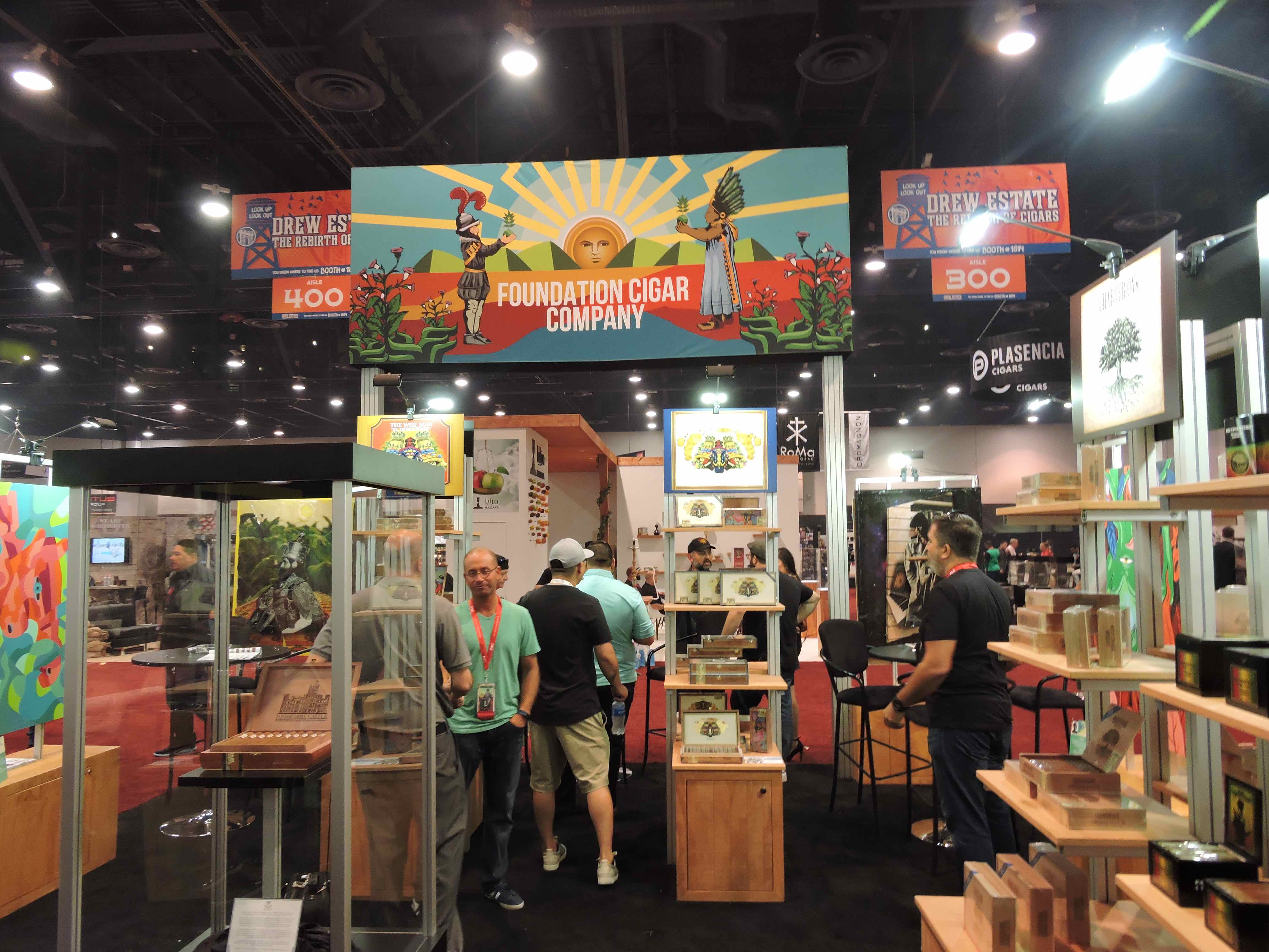 Feature Story: Spotlight on Foundation Cigar Company at the 2018 IPCPR