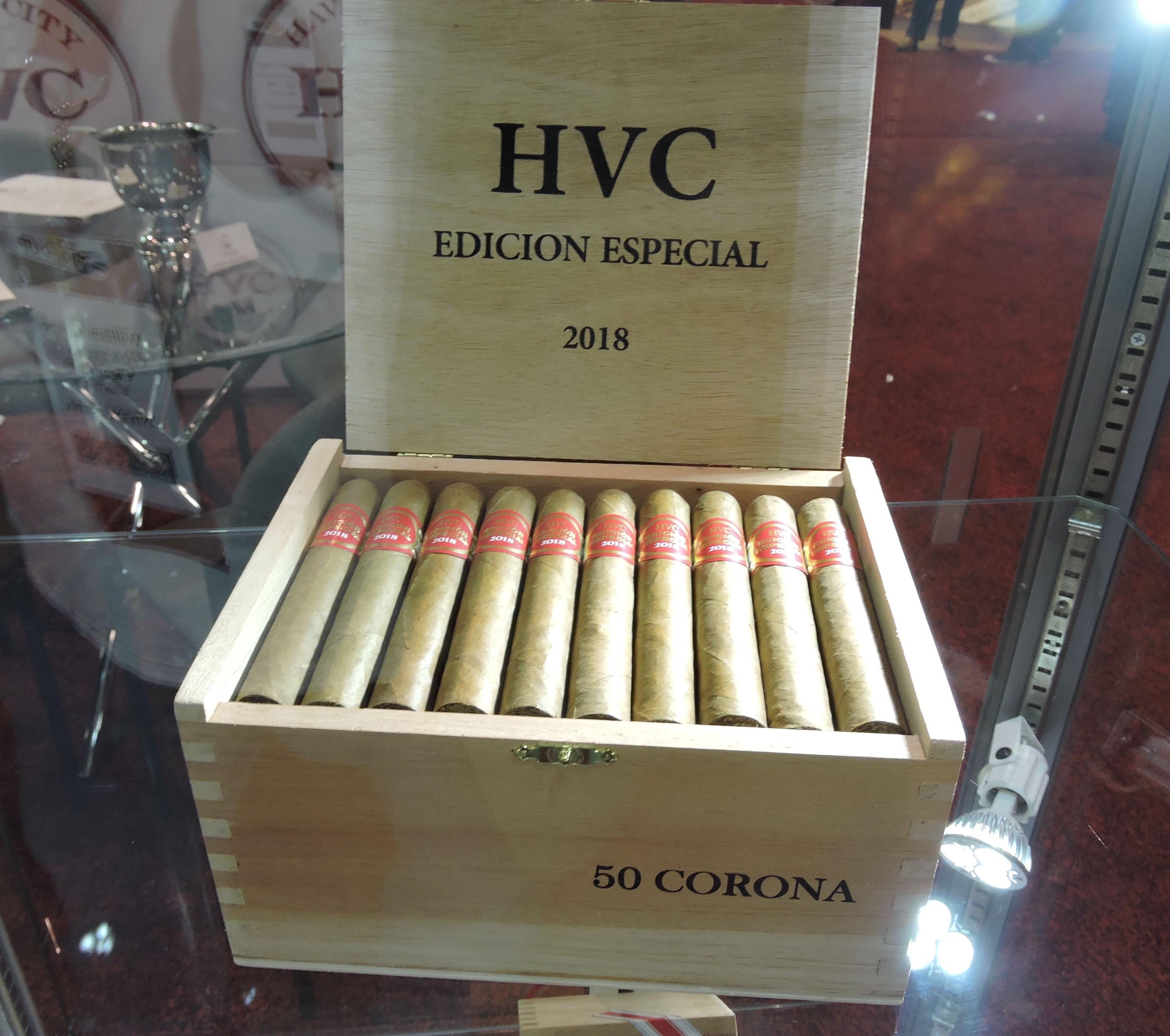 Cigar News: HVC Edición Especial 2018 Launched at 2018 IPCPR