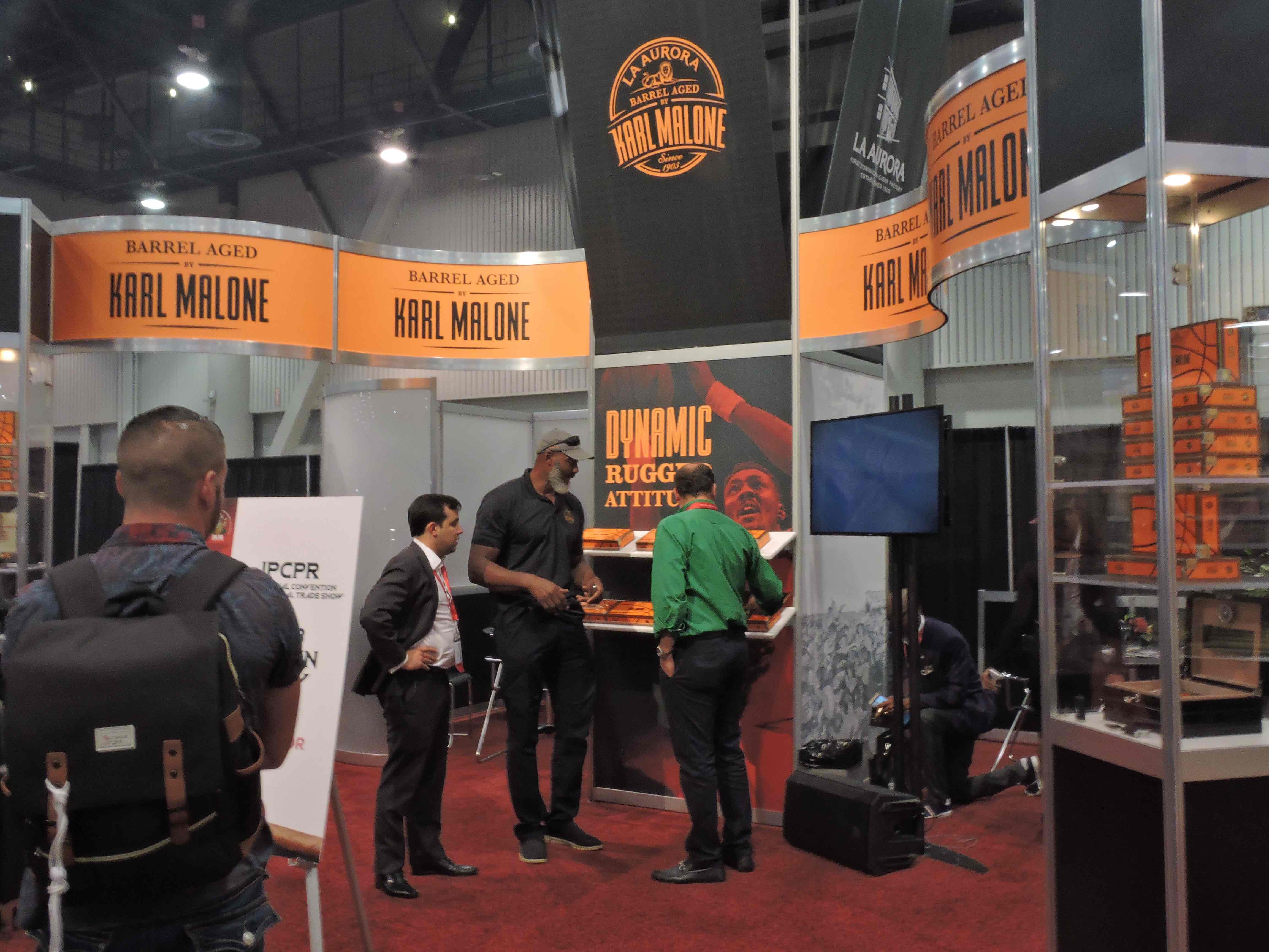 Feature Story: Spotlight on Karl Malone's Cigar Venture at the 2018 IPCPR