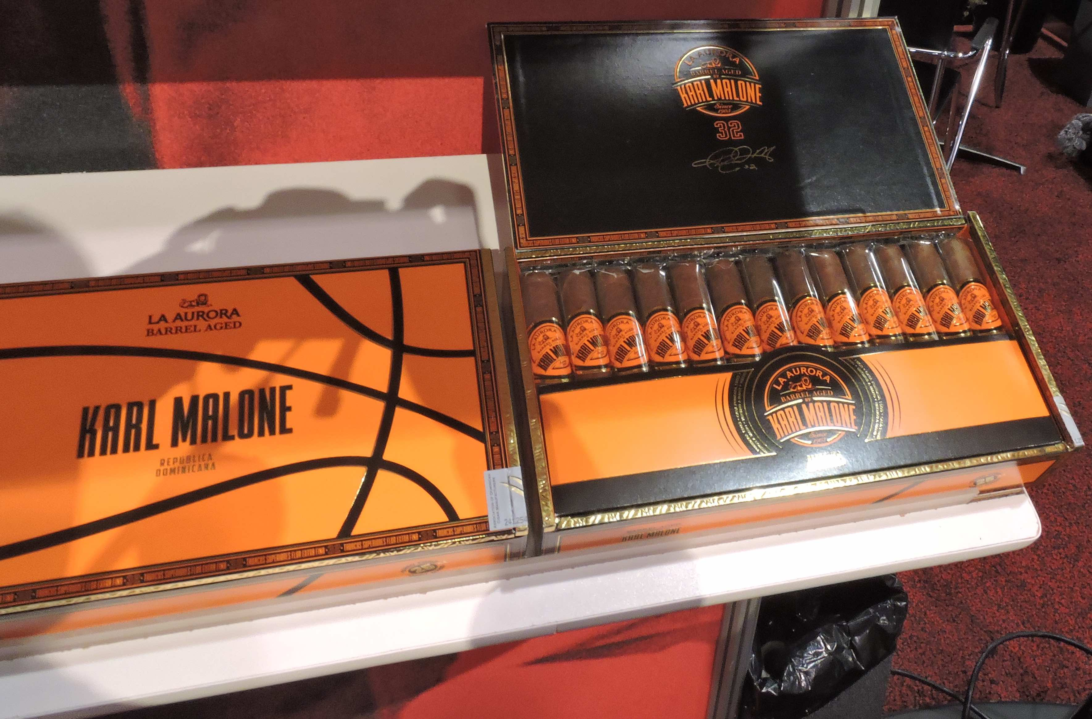 Cigar News: Miami Cigar & Company to Distribute Barrel Aged by Karl Malone