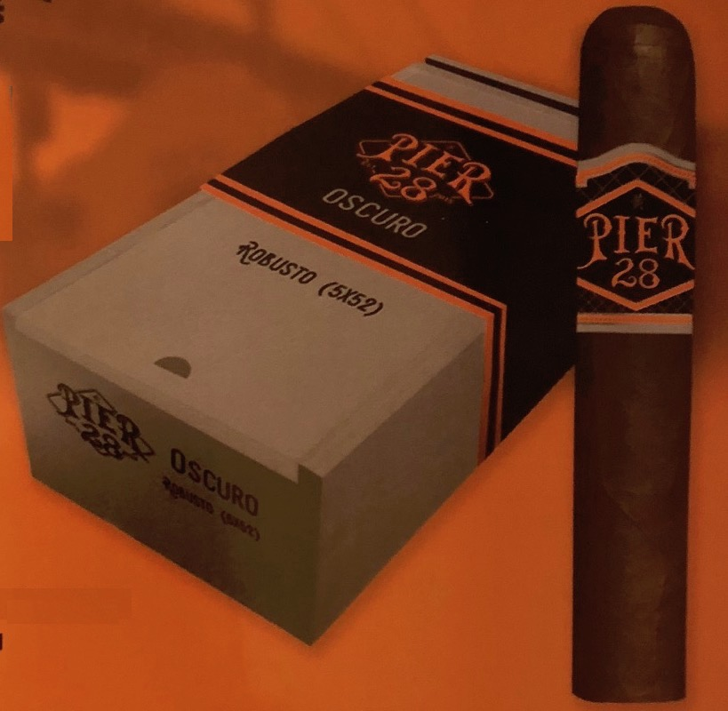 Cigar News: Pier 28 Oscuro Introduced at 2018 IPCPR