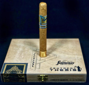 Cigar News: Cubariqueño Cigar Co to Release Protocol Themis Corona Gorda as Exclusive to Famous Smoke Shop