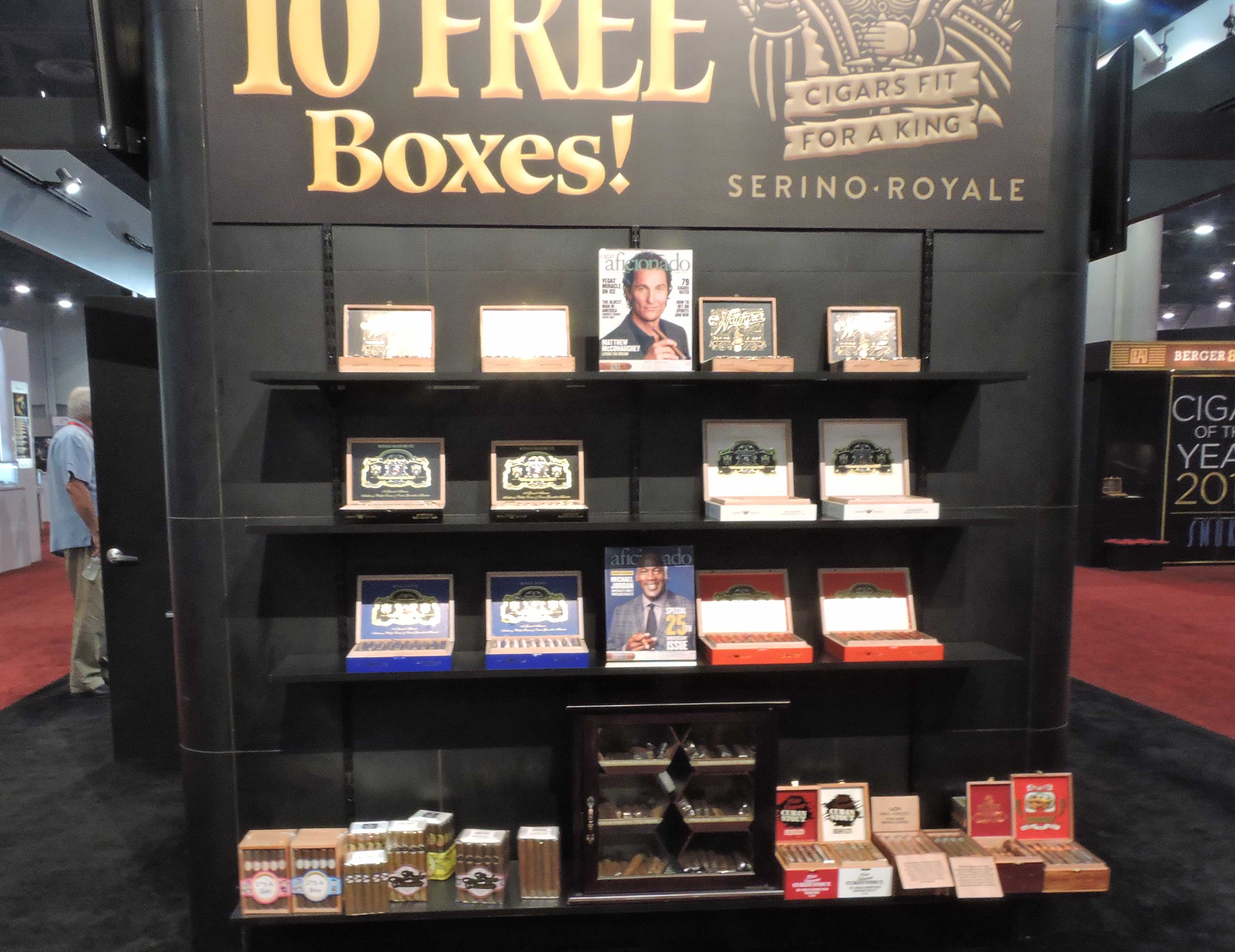 Feature Story: Spotlight on Serino Cigar Company at the 2018 IPCPR