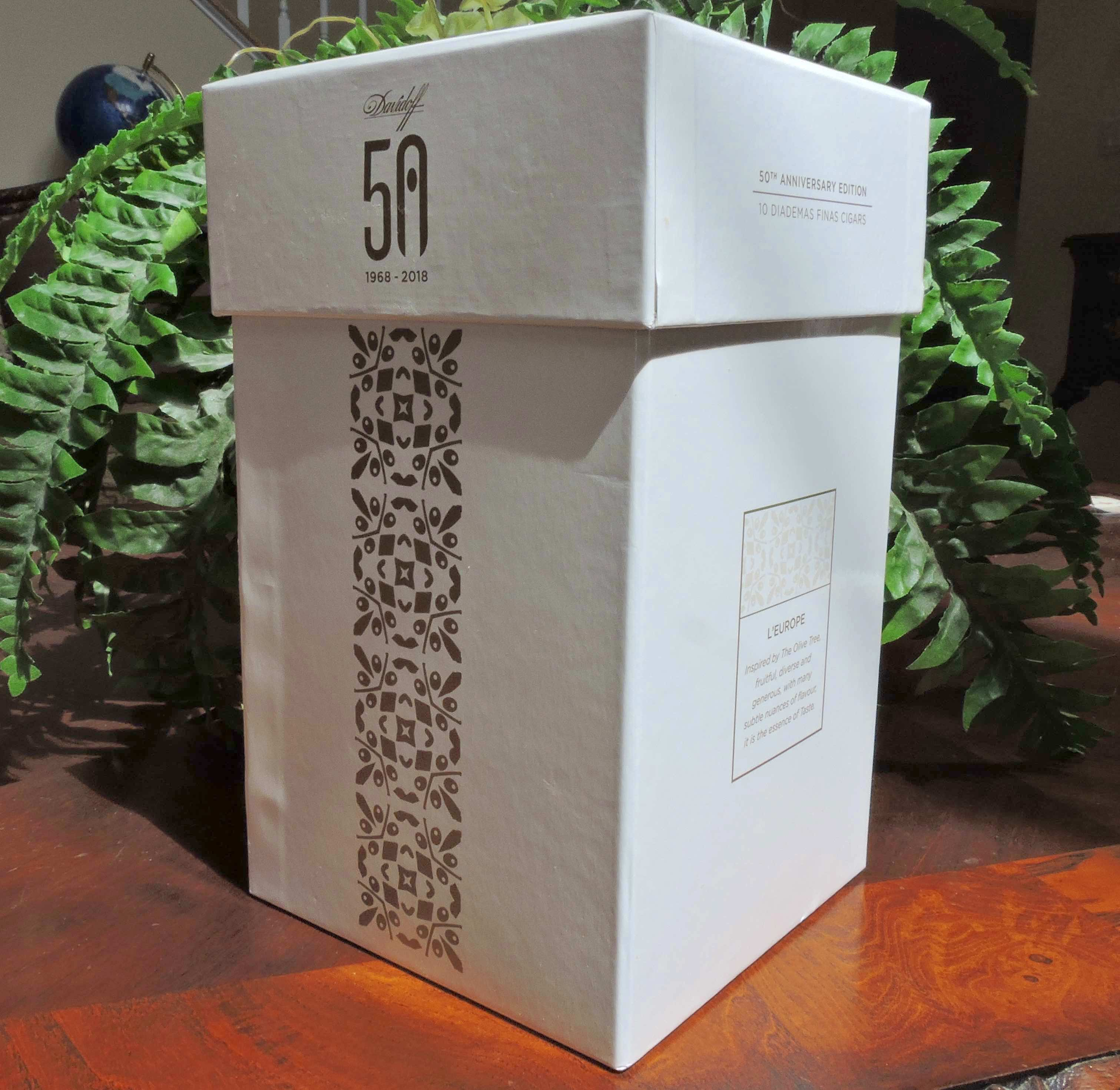 Davidoff 50 Years Limited Edition Diademas Finas Box