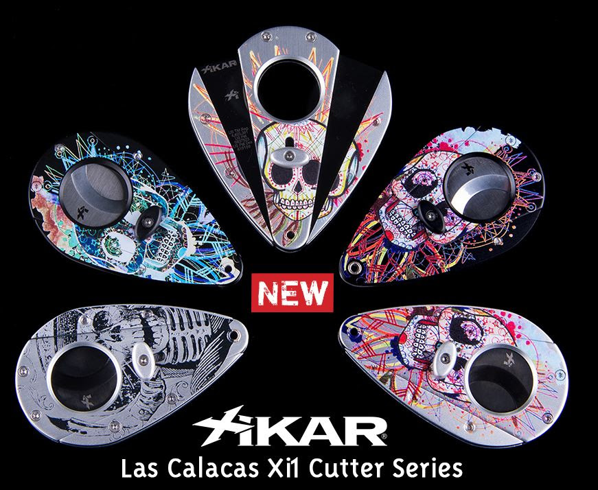 Cigar News: XIKAR Releases Las Calacas Xi1 Cutter Series