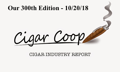Cigar Industry Report: Volume 7, Number 47 Edition 300 (10/20/18)