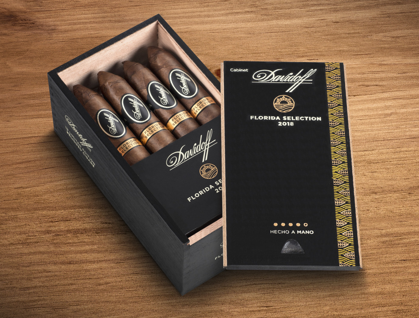 cigar news davidoff florida selection 2018 limited edition announced. Black Bedroom Furniture Sets. Home Design Ideas