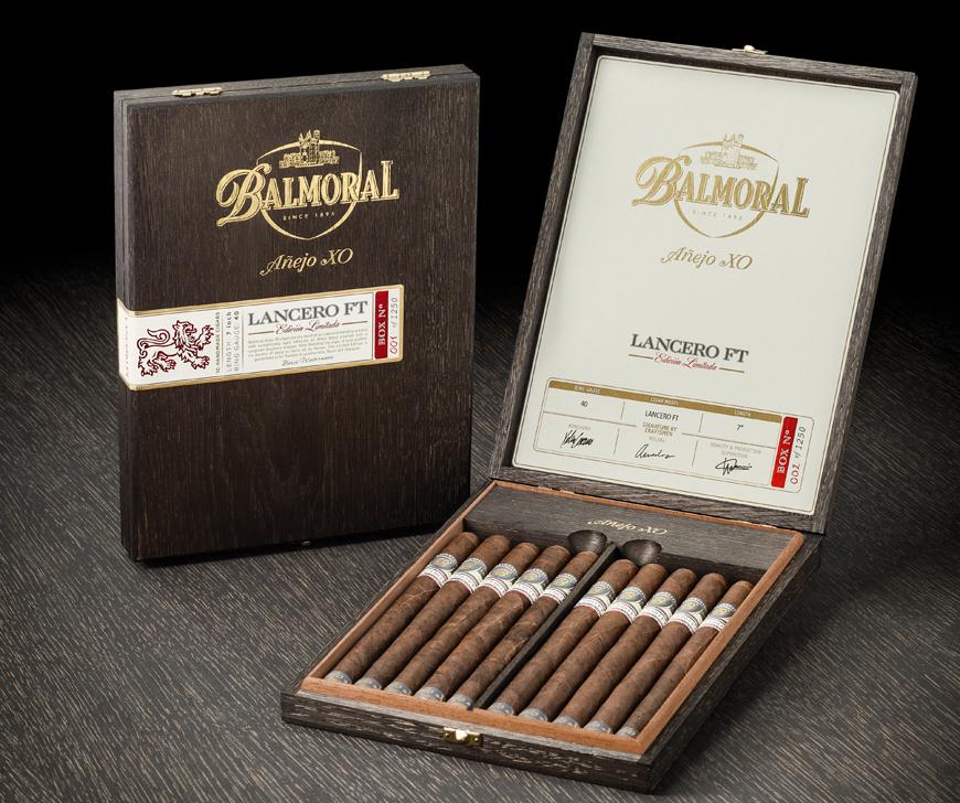 Cigar News: Royal Agio Brings Back Balmoral Añejo XO Lancero Flag Tail (FT) Edición Limitada