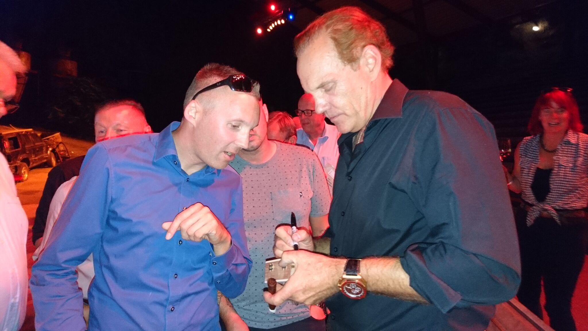 "Cigar News: Daniel Marshall ""Cigars Meets Movies Campfire Event"" Held at Famed Babelsberg Studio Theme Park"