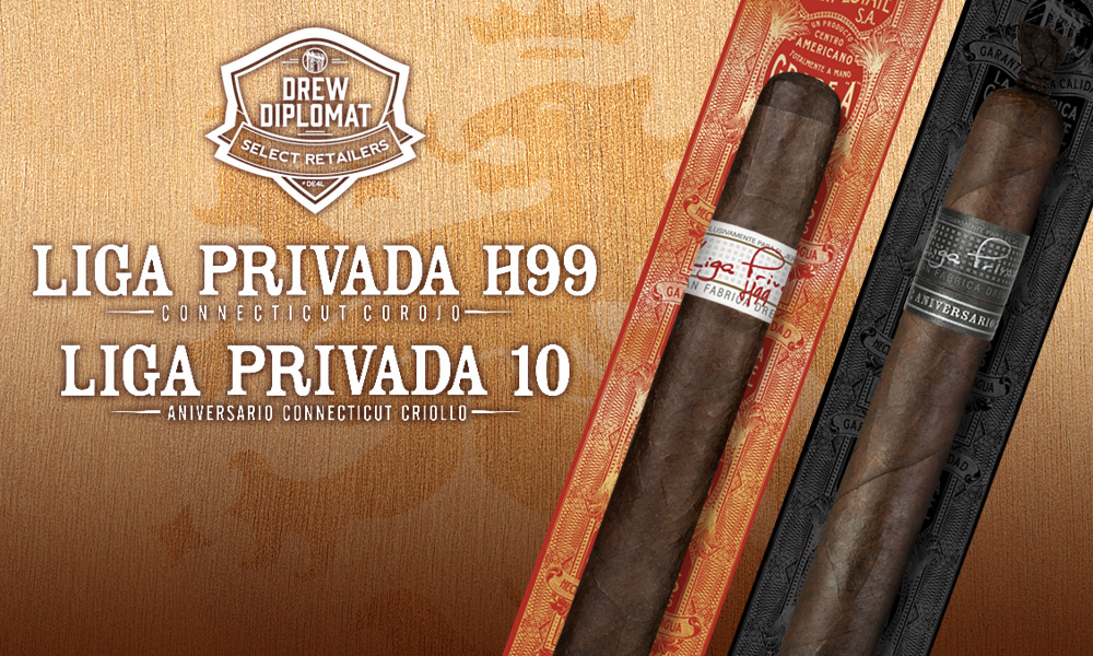 Cigar News: First Retailers Selected for Liga Privada 10 Year Aniversario and the Liga Privada H99 Allocations
