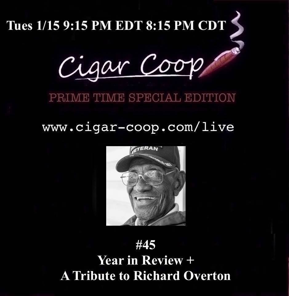 Announcement: Prime Time Special Edition #45 – 2018 Review and a Tribute to Richard Overton