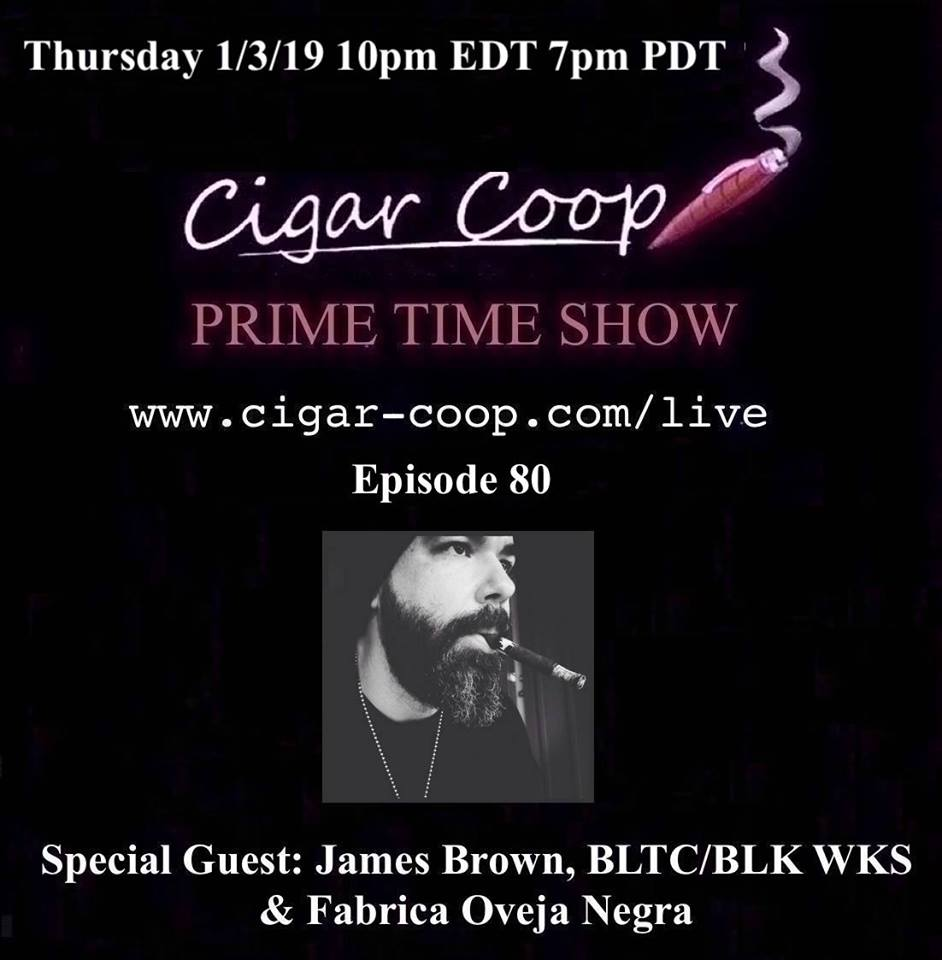 Announcement: Prime Time Episode 80: James Brown, Black Label Trading Company/Black Works Studio