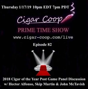Announcement: Prime Time Episode 82: Cigar of the Year List Panel Discussion
