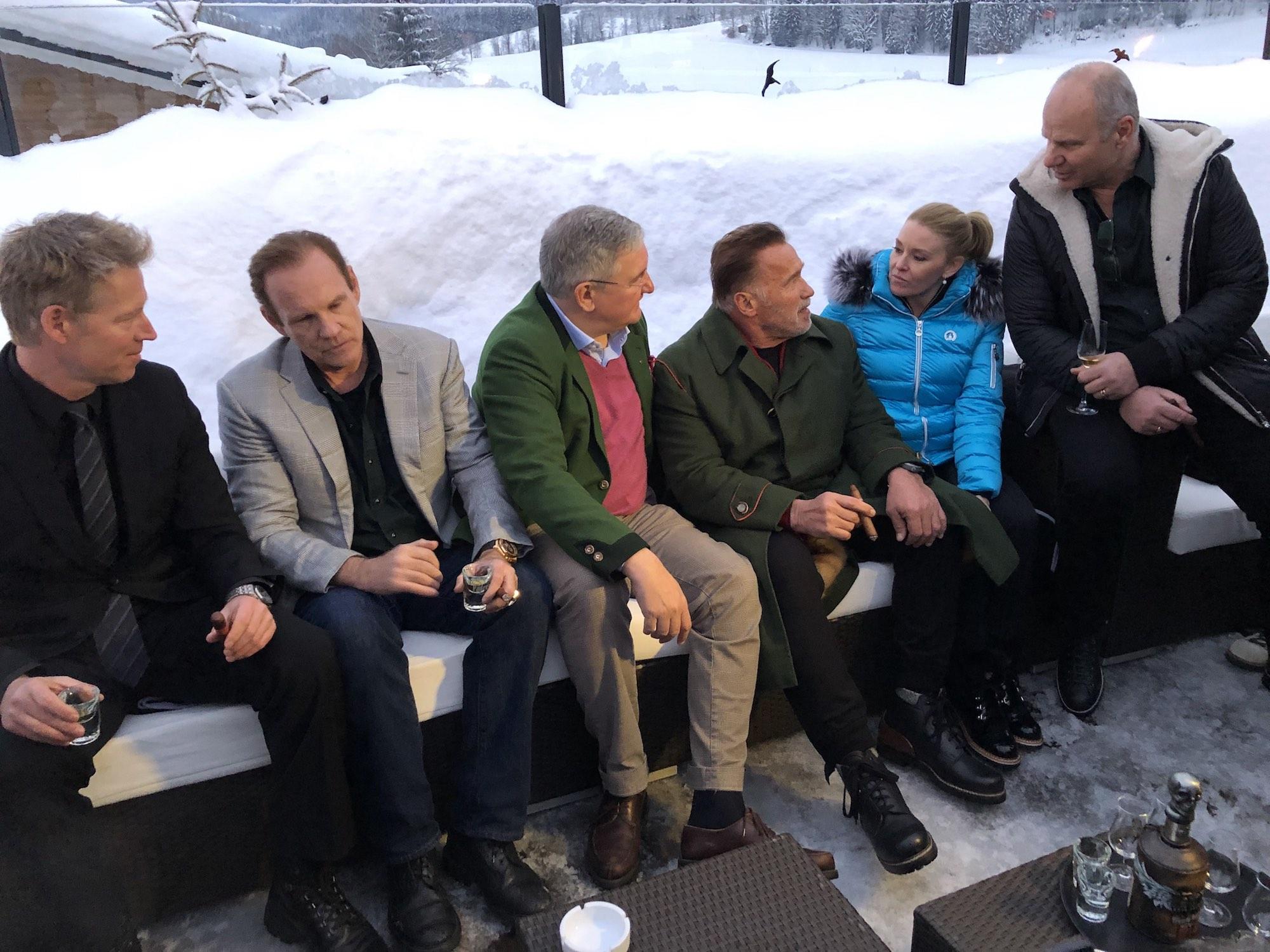 Cigar News: 2019 Daniel Marshall Campfire Event Held to Celebrate Hahnenkamm-Rennen Ski Race
