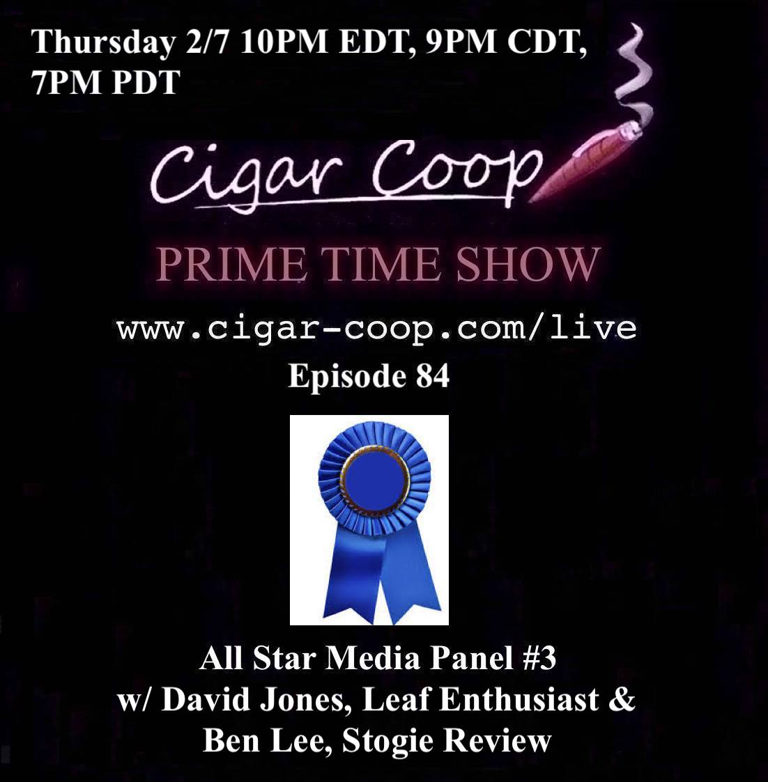 Announcement: Prime Time Episode 84: All Star Media Panel #3