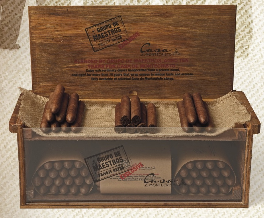 Cigar News: Grupo de Maestros Private Batch Exclusive Coming to Casa de Montecristo Stores