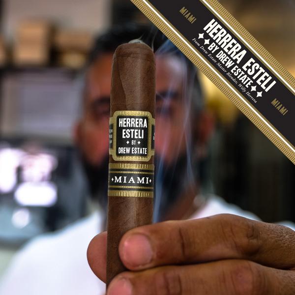 Cigar News: Herrera Estelí Miami Heads to Drew Diplomat Retailers