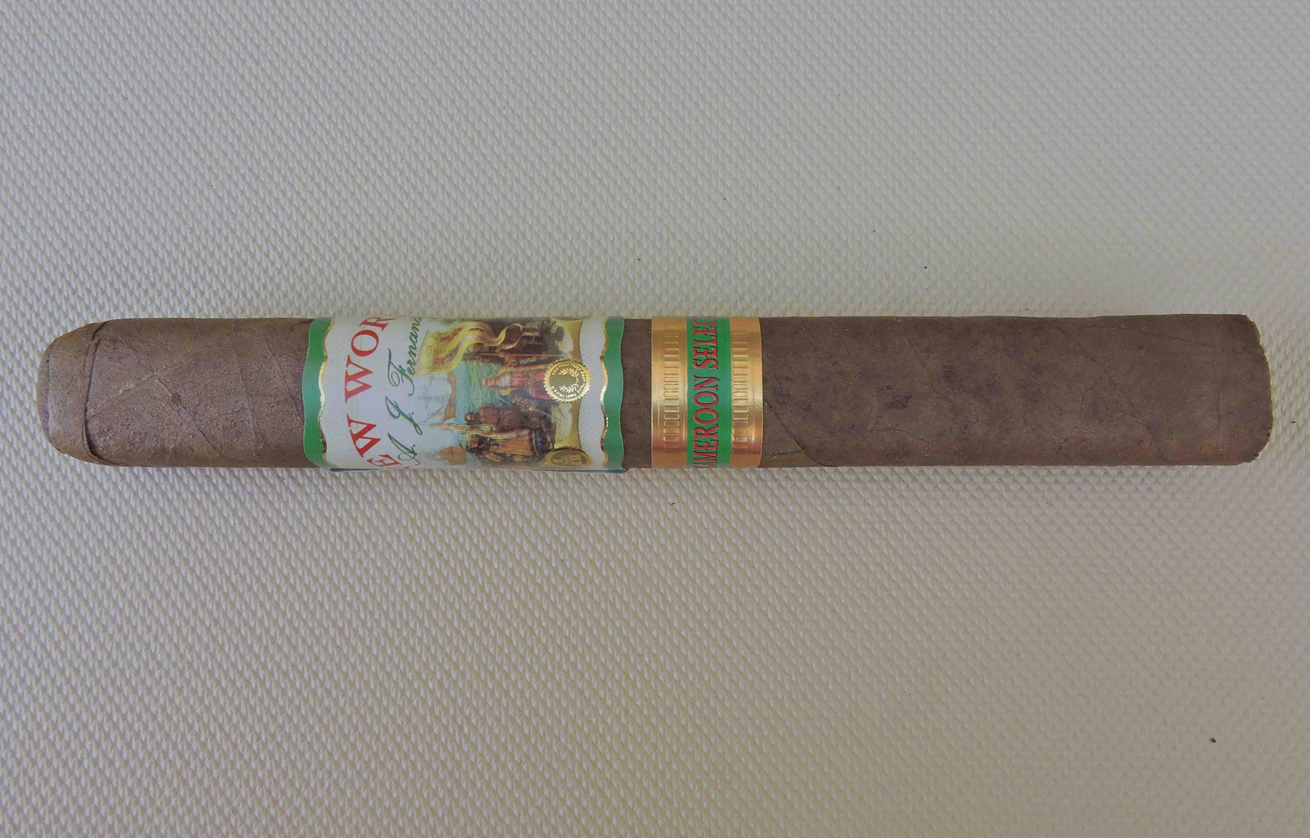 Cigar Review: AJ Fernandez New World Cameroon Selection Toro