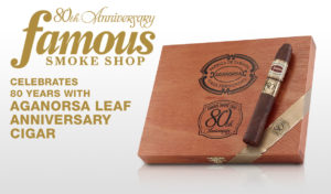 Cigar News: Aganorsa Leaf Famous 80th Anniversary Cigar Released