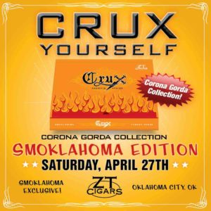 Cigar News: Crux Corona Gorda Collection Returns for Smoklahoma 2019