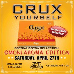 Cigar News: Crux Corona Gorda Collection Returns for Smoklahoma 2019