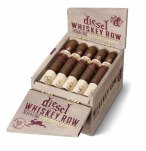 Cigar News: Diesel Whiskey Row Sherry Cask Coming in June