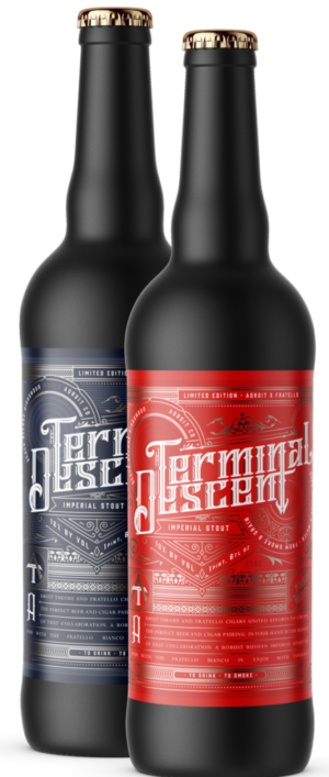 Cigar News: Fratello Cigars Announces Terminal Descent Imperial Stout Beer Project
