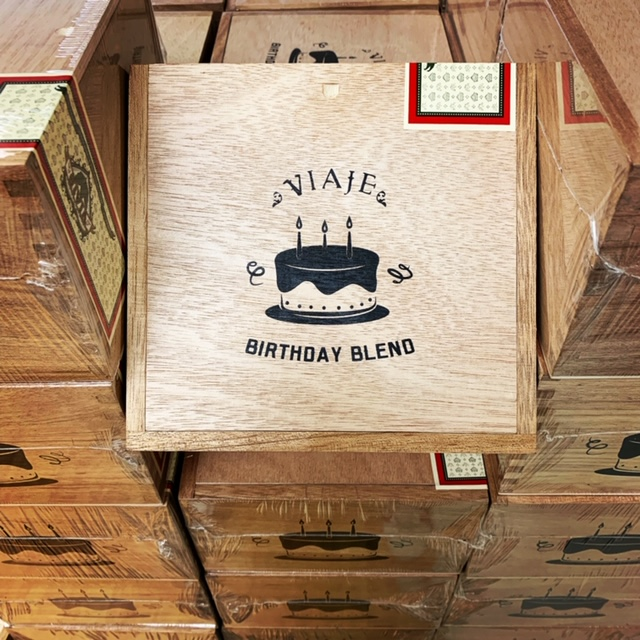 Cigar News: Viaje Moves Birthday Blend Out of WLP Series