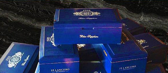 Cigar News: 1502 Blue Sapphire Lancero Released