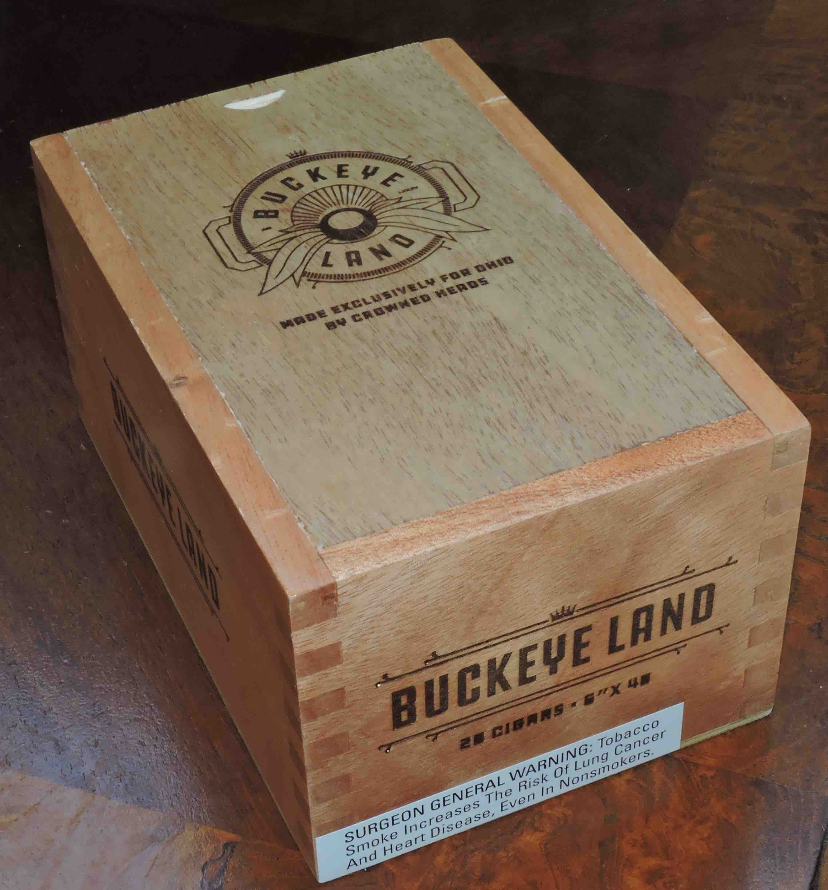Crowned Heads Buckeye Land-Closed Box